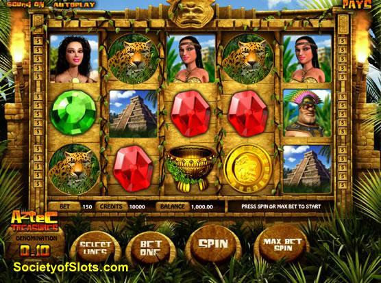 Aztec slot machine free play