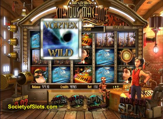 Curious Machine Slots - Free Miles Bellhouse Slot Game in 3D