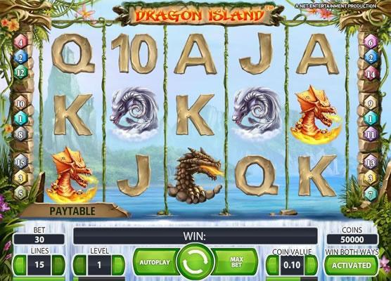 Dragon Island - Gratis fantasy slots på nätet