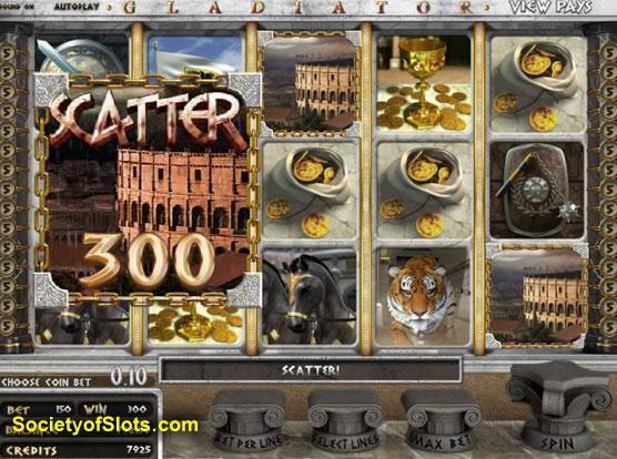 free gladiator slot machine
