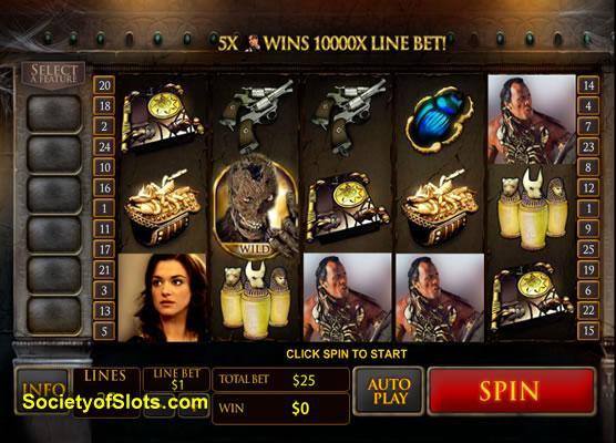 Wild Mummy Slot Machine - Play this Amaya Casino Game Online
