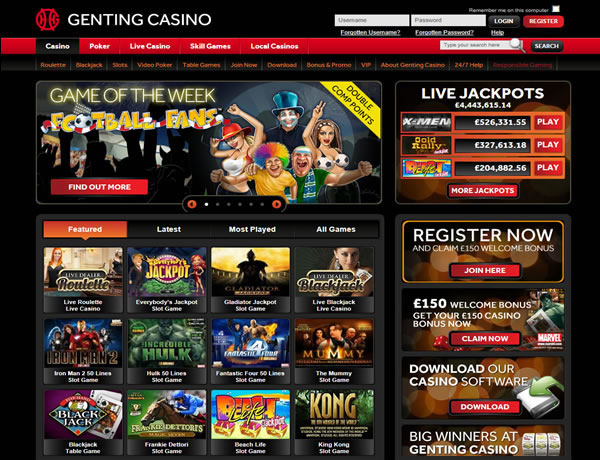 Genting Casino Website